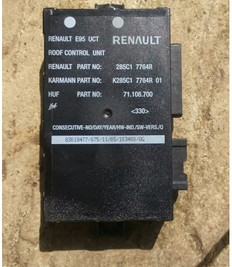 Renault Megane CC Convertible ECU Roof Control Unit 2010-2016