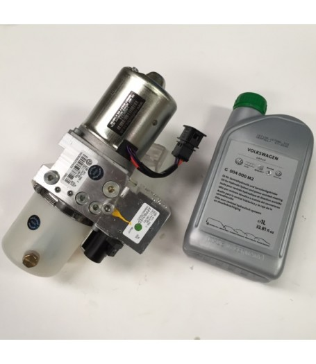 VW EOS Hydraulic Roof Motor and Pump Unit Complete 2006 on.